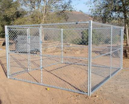 DOG KENNELS 10 FT X 12 FT WITH GATE 6 FT H Fences 4 Less 39 S SiteLINK 7 B